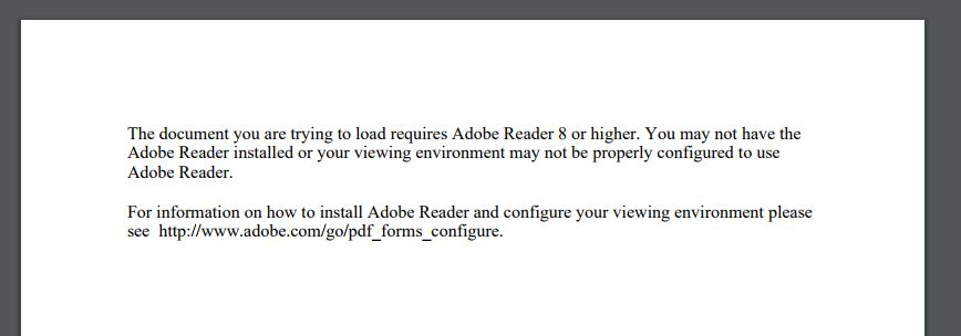 Requires Adobe Reader