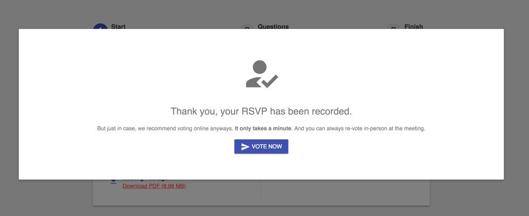 GetQuorum Platform Update: New RSVP Feature