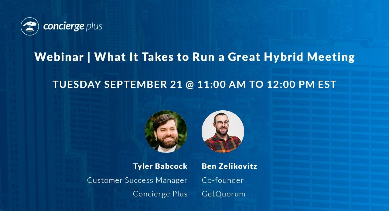Watch Now: What It Takes to Run a Great Hybrid Meeting